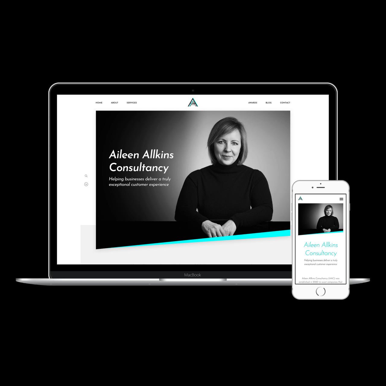Aileen Allkins Website | Tom Hoadley | Freelance Wordpress Developer